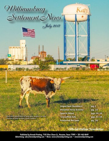 Williamsburg Settlement July 2017