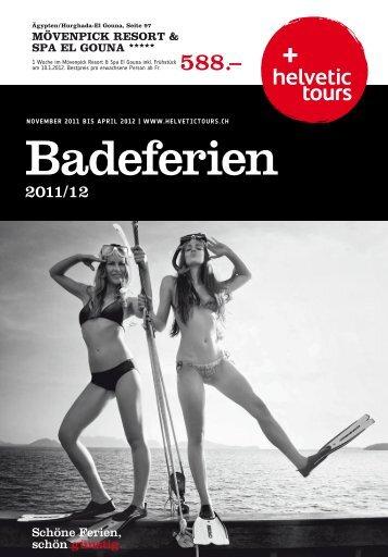 HELVETIC Badeferien Wi1112