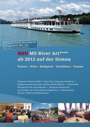 NEU MS River Art**** ab 2012 auf der Donau - Thurgau Travel