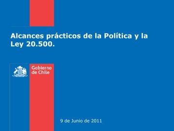 Mecanismo Descripción / Ventajas - Ministerio Secretaría General ...