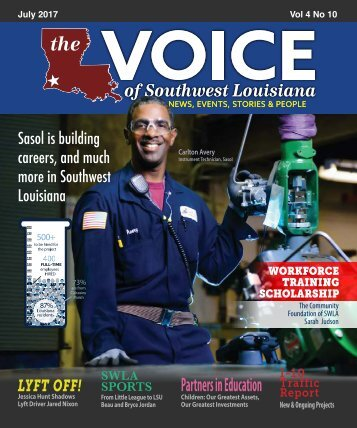 The Voice of Southwest Louisiana July 2017 Issue
