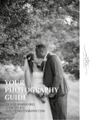 Outlite Photography Wedding Guide 2018 19