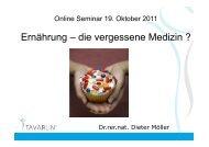 (Microsoft PowerPoint - 2011-10 Online Seminar_Ern\344hrung -die ...