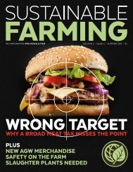 Sustainable Farming Magazine - Vol. 2 - Issue 2. Summer 2017