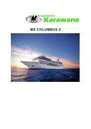 Schiffsbeschreibung Columbus 2 - Karawane Reisen