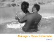 Livre photos - Mariage