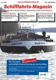 Schifffahrts-Magazin - Schifffahrt online