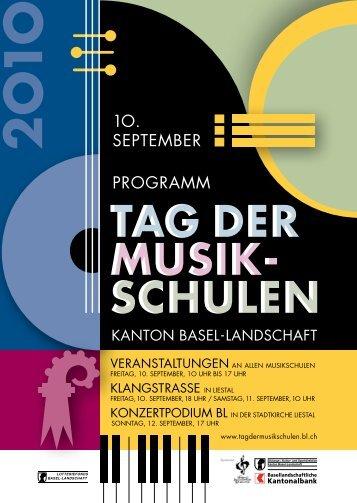 tag der musik- schulen tag der musik - Amt für Volksschulen ...
