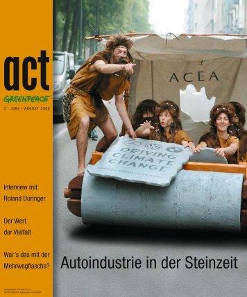 Autoindustrie in der Steinzeit