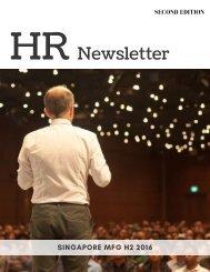 HR Newsletter 2016 H2