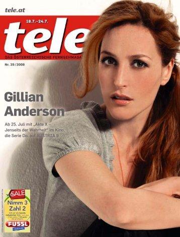 Gillian Anderson - Tele.at