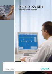 DESIGO INSIGHT – Sicherheit in der Anwendung - Siemens