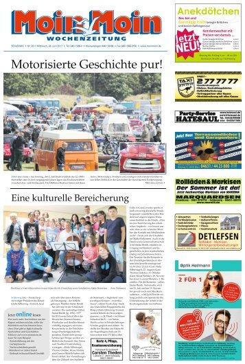MoinMoin Schleswig 26 2017