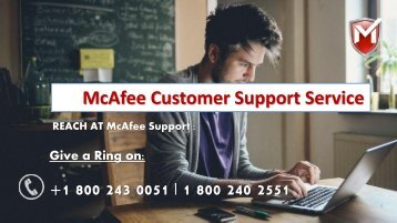 How To Install McAfee on Mac OS X – 1800-243-00551 Support Desk