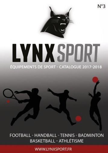 CATALOGUE lynxsport BD
