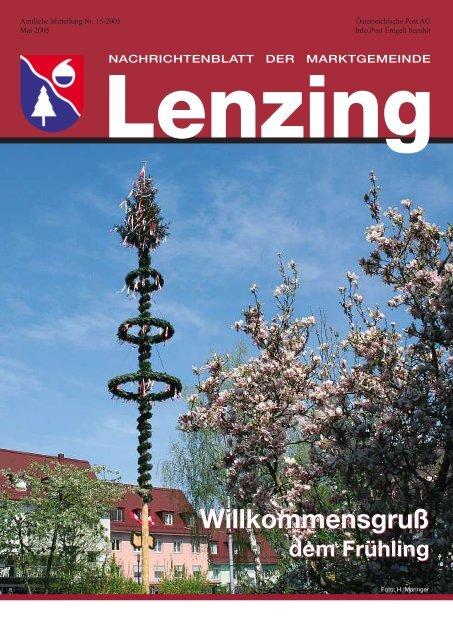 Vereine Fr Singles Lenzing, Frau Sucht Mann In Gfhl