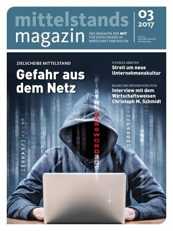Mittelstandsmagazin 03-2017