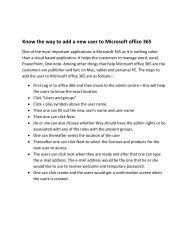 Know the way to add Microsoft 365