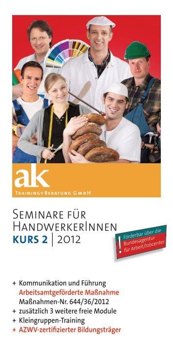 kurs 2 - ak Training + Beratung GmbH