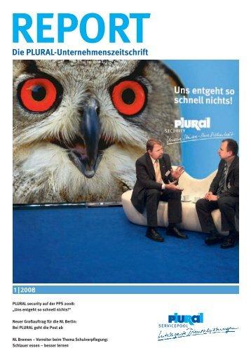 Die PLURAL-Unternehmenszeitschrift - Plural servicepool GmbH