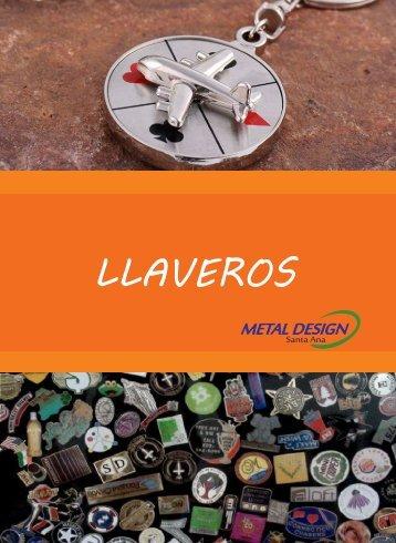 catalogo de LLAVEROS