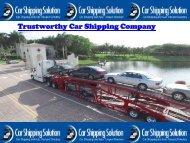 Car Shipping Company Canada