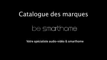 Catalogue Marques be smarthome - 2017