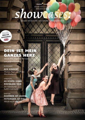 showcases Schwerpunkt Musik 17 - 03