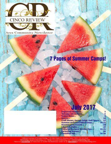 Cinco Ranch 2 July 2017