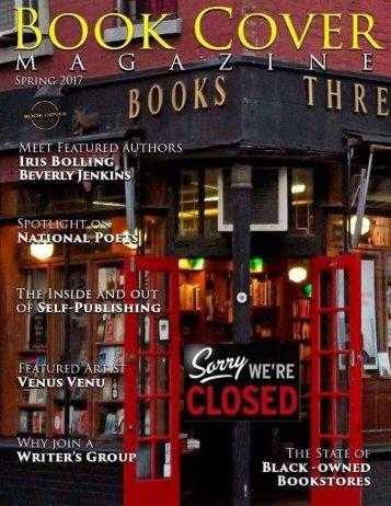 Book Cover Magazine - Spring Edition 2017