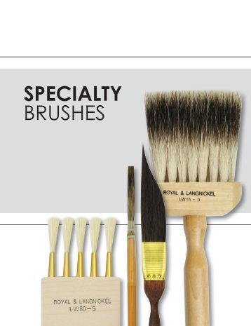 2017 Specialty Brushes