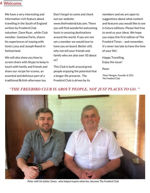 The Freebird Times - Issue 1
