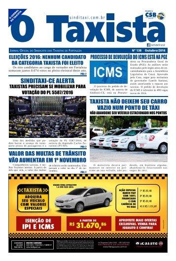 JORNAL DO TAXISTA - EDIÇÃO 138