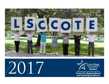 Lone Star College-Tomball COTE 2017 Fall Calendar