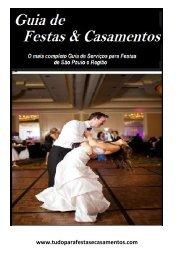 Guia de festas e casamentos