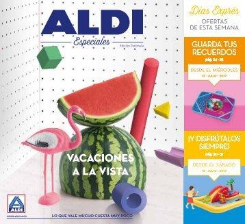 Folleto ALDI desde 10 al 16 de Julio 2017