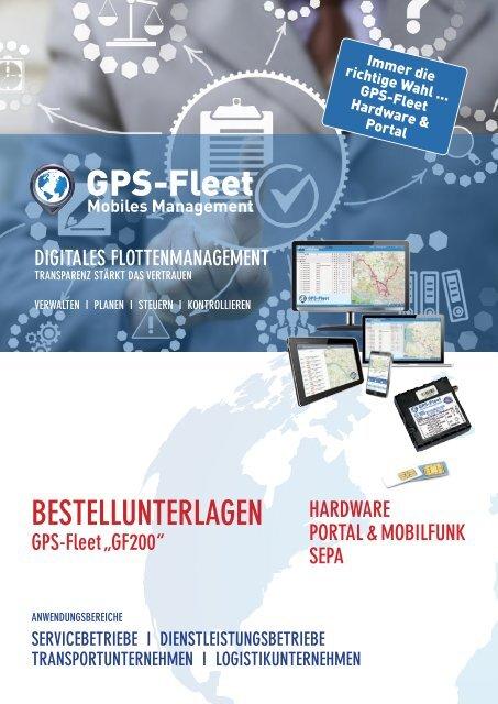 Bestellformular GF200