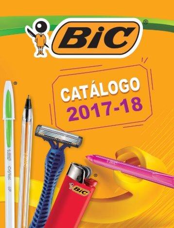 Catálogo BIC 2017-2018v