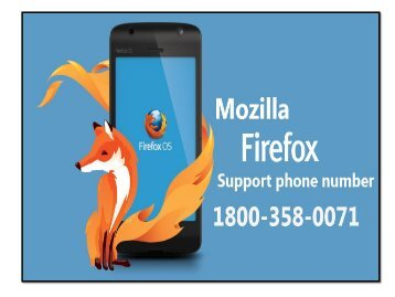 Mozilla firefox technical support number 1800-358-0071
