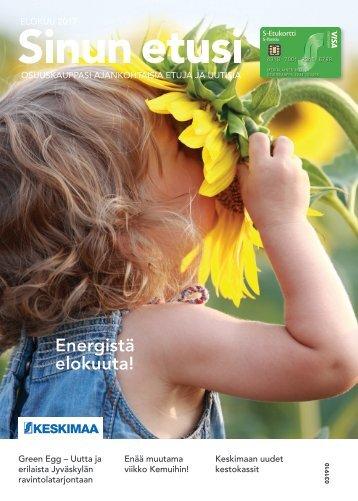 Sinun Etusi elokuu  – Keskimaan ajankohtaisia etuja ja uutisia 08/17