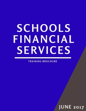 SFS Training Brochure