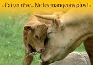 Carte sentience vaches