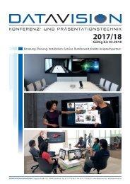 Produktkatalog DataVision 2017/18