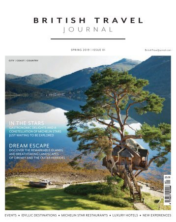 BRITISH TRAVEL JOURNAL | SPRING 2019