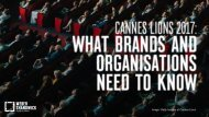 Cannes Lions 2017_What Brands and Organisations Need to Know