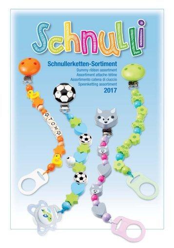 HobbyFun - Schnullerketten - Sortiment - Juli 2017