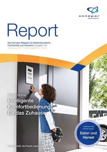 Report Juli / August 2017