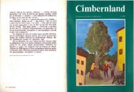 Cimbernland, Ausgabe 1 Jahrgang2017