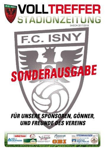 Sonderausgabe Stadionzeitung 2017/18