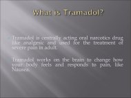 Buy Tramadol Online Easily and Get your Pain Relief Medicine at Your Doorstep!